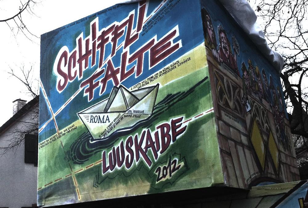 Fasnacht 2012:Latärne ypfyffe
